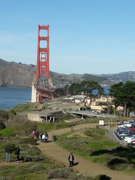 A view from the hill | Golden Gate Bridge | OhMarieOH